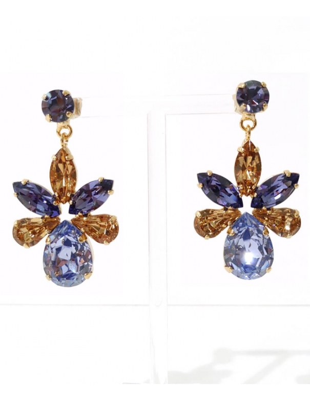 Earrings Capri Blu &...
