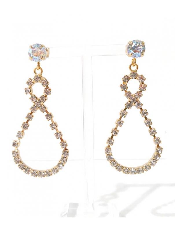 Earrings Capri Stone Drops...