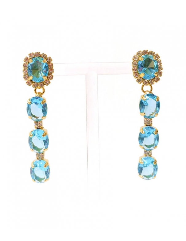 Earrings Capri Aqua Marine...