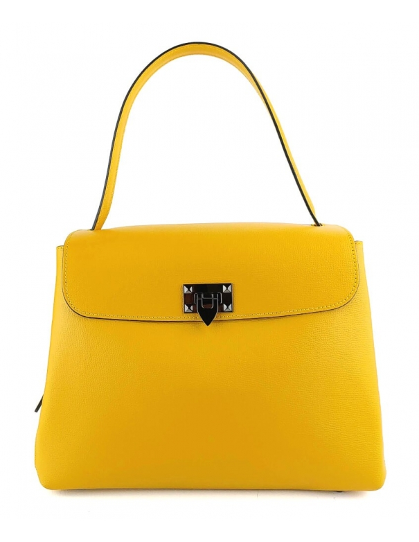 Greta Yellow Bag