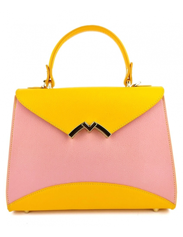 Audrey Bag Pink Yellow Bag