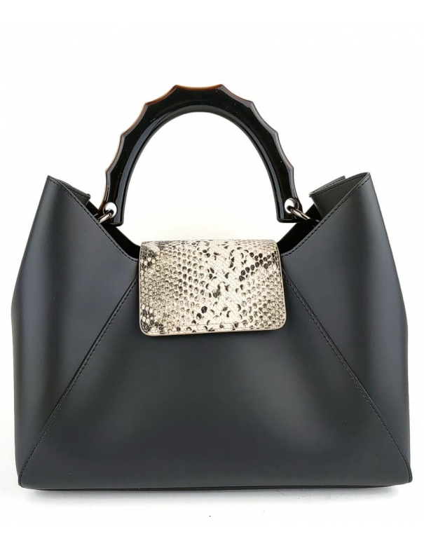 Jackie Black Bag