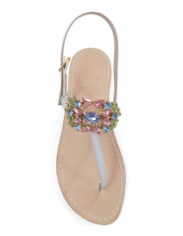 Villa Imperiale jewel sandals