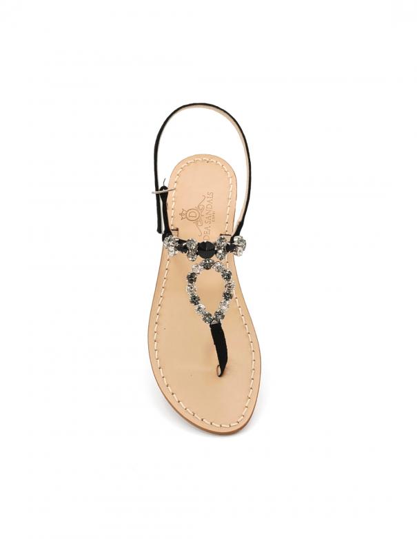 Sandali Cala del Limmo Nero Crystal