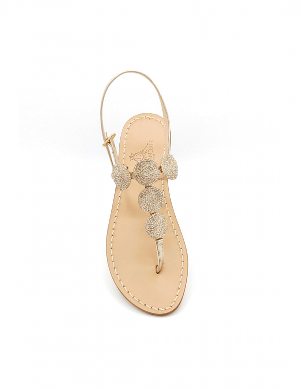 Sandali Fari di Capri 5C Platino