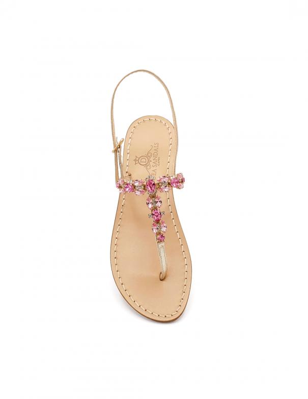 Sandali Pizzolungo Rosa