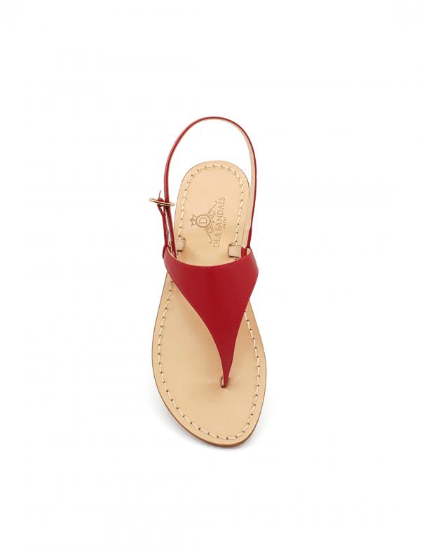 Sandali Migliera Rosso