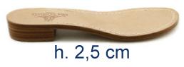 Tacco 2,5 cm