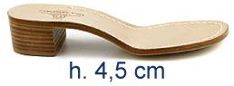 Heel 4,5 cm